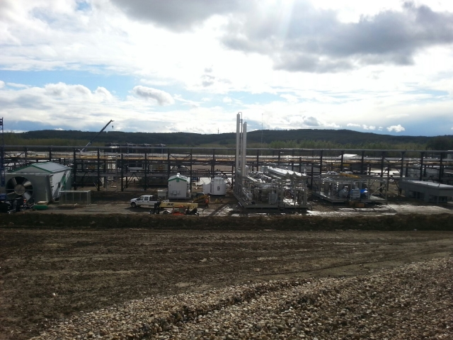 Deep Cut Gas Plant OIlfield Construction