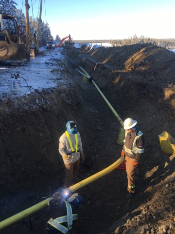 Bunch Pipeline Installation
